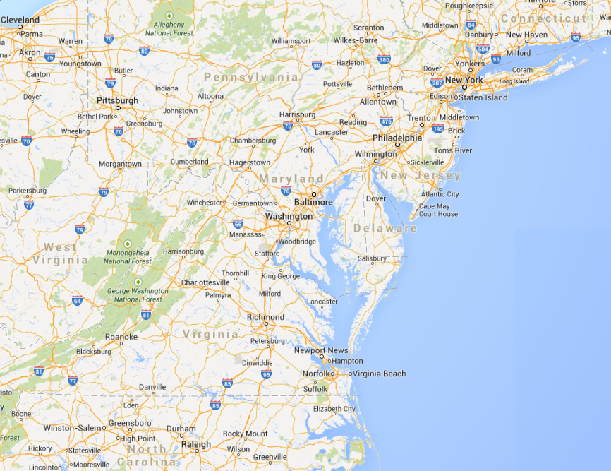 Dc Va Md Map Pictures To Pin On Pinterest  PinsDaddy